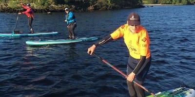 SUP Central Scotland on the Forth