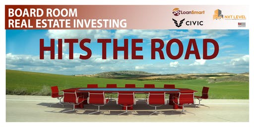Board Room Real Estate Investing - Hits The Road