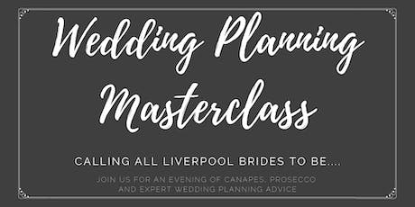 Wedding Planning Masterclass tickets