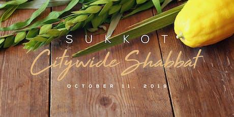 Sukkot Citywide Shabbat tickets
