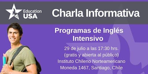 Charla de Inglés Intensivo Julio 2019