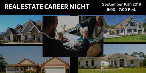 September 2019 : SPOKANE / Real Estate Career Night