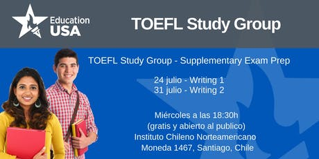 TOEFL Study Group Julio tickets