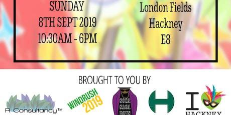 Hackney Carnival Soca Sagaboys & R Consultancy 2019 tickets