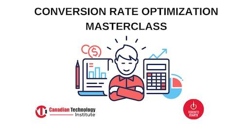 CONVERSION RATE OPTIMIZATION MASTERCLASS