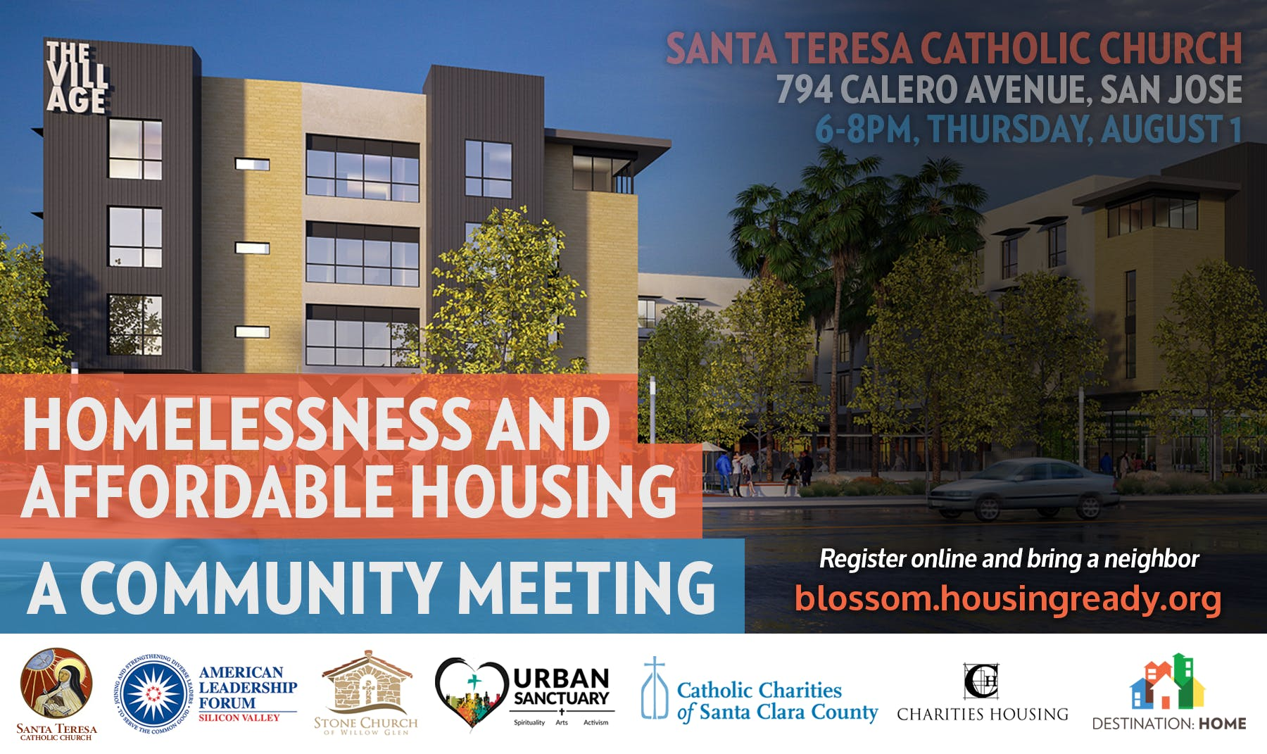 Community Conversation on Homelessness and Housing (South San Jose)