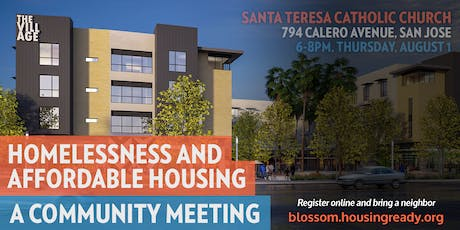 Community Conversation on Homelessness and Housing (South San Jose) tickets
