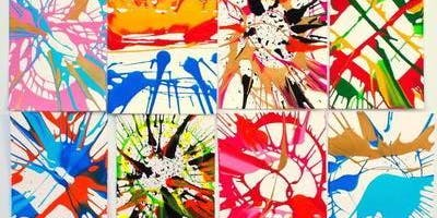 Spin Art Paintings - RSVP/Ticket Required