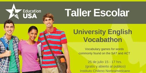 University English Vocabathon