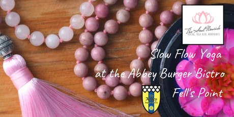 Slow Flow Yoga at Abbey Burger Bistro Fell's Point tickets