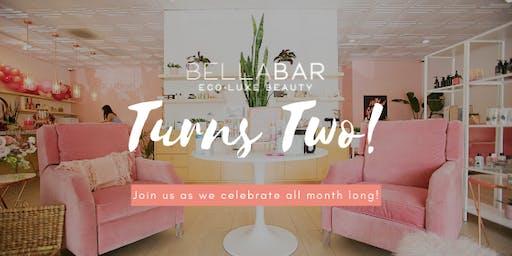 BellaBar x Blush Elegance 2 yr Anniversary Bash!