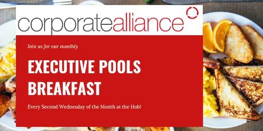 August Executive Pools Breakfast