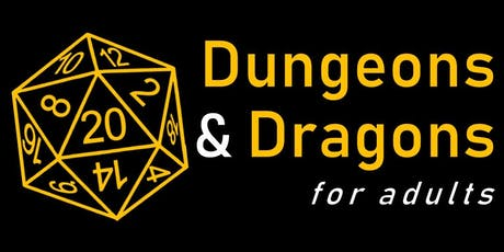 Dungeons & Dragons for Adults! tickets