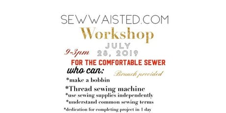 Workshop Pants Set for Comfortable Sewers tickets
