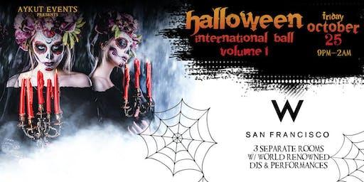 W Hotel Halloween Party