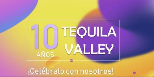 10 Aniversario de Tequila Valley cancún