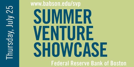 2019 Babson Summer Venture Showcase  tickets