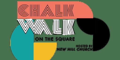 Chalk Walk on the Square
