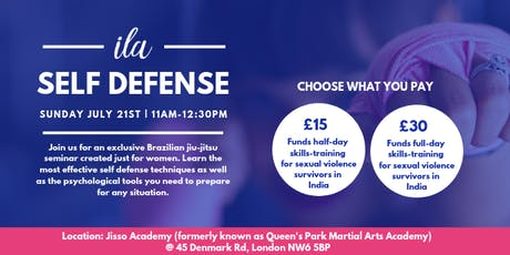 ila Self Defense Class x Jisso Academy tickets