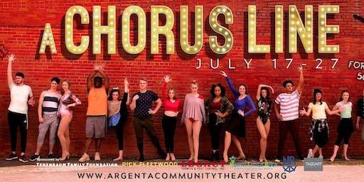A Chorus Line - Argenta Fundraiser