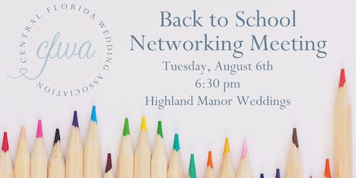 CFWA August Networking Event at Highland Manor