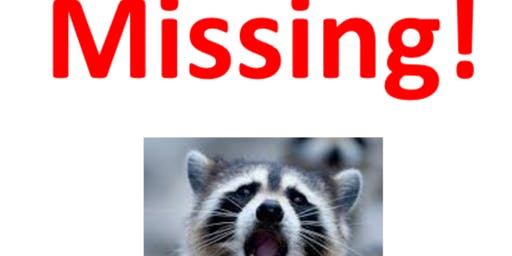 New!! Central Park Mystery Scavenger Hunt: The Case of The Missing Raccoon