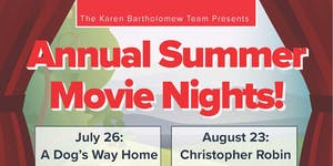 The Karen Bartholomew Team's Annual Summer Movie...