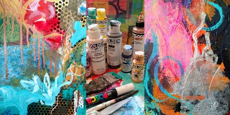 Abstract Painting Adventure with Metallics tickets