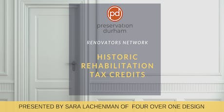 Renovators Network: Historic Rehabilitation Tax Credits tickets