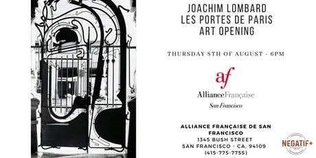 Art Opening - Vernissage Joachim Lombard tickets
