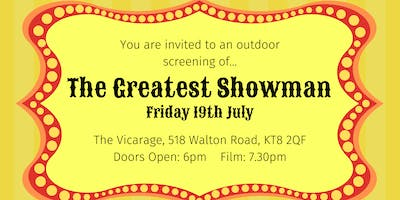 Outdoor Cinema: The Greatest Showman