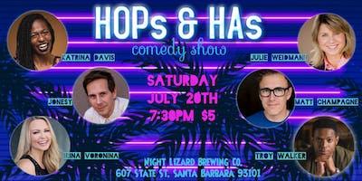HOPs & HAs comedy show