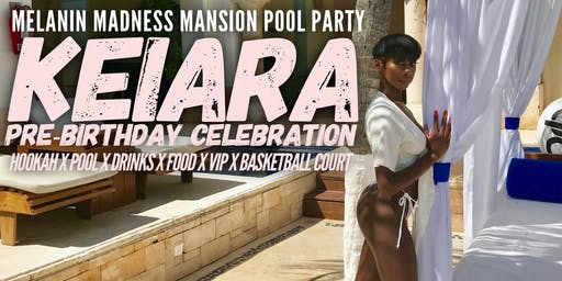 Keiara birthday Mansion pool party