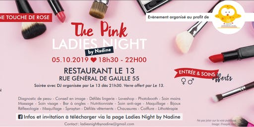 Invitation - The Pink Ladies Night by Nadine