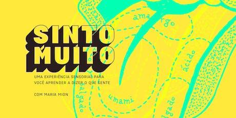 Sinto Muito (Brasília - Objeto Encontrado) ingressos