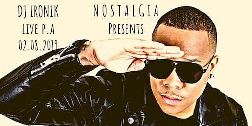 Nostalgia - DJ Ironik