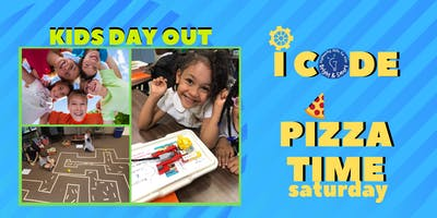 Kids' Day Out - I Code STEM and Pizza Time