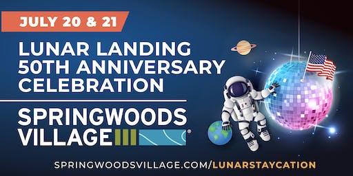 Lunar Landing Anniversary Celebration in Springwoods Village