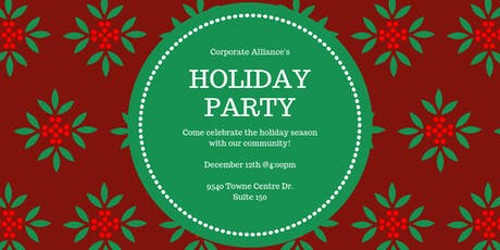 Corporate Alliance Holiday Mixer tickets