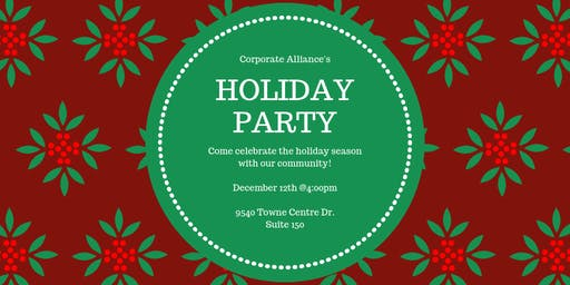 Corporate Alliance Holiday Mixer