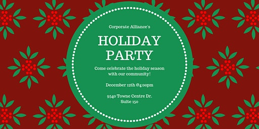 Corporate Alliance Holiday Party