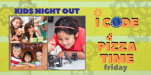 Kids' Night Out - I Code STEM and Pizza Time