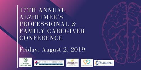 17th Annual Alzheimer's Professional & Family Caregiver Conference tickets
