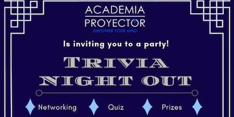 TRIVIA NIGHT OUT tickets