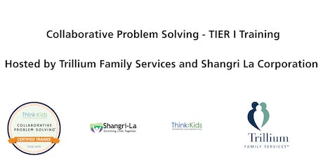 Collaborative Problem Solving - TIER I Training tickets