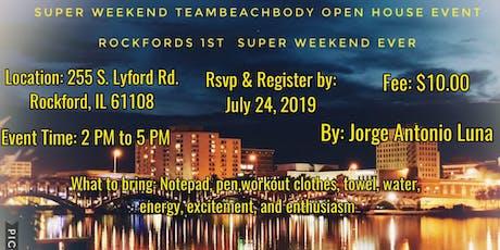 Super Weekend Team Beachbody Open House Event tickets