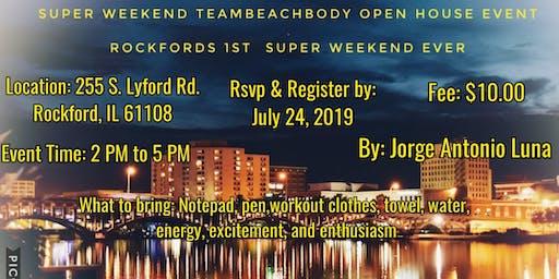 Super Weekend Team Beachbody Open House Event
