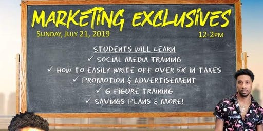 Marketing Exclusives