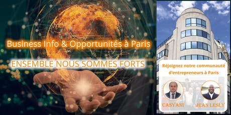 Business Info & Opportunités à Paris (16h00) billets