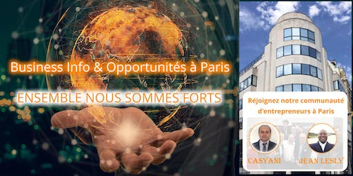 Business Info & Opportunités à Paris (16h00)